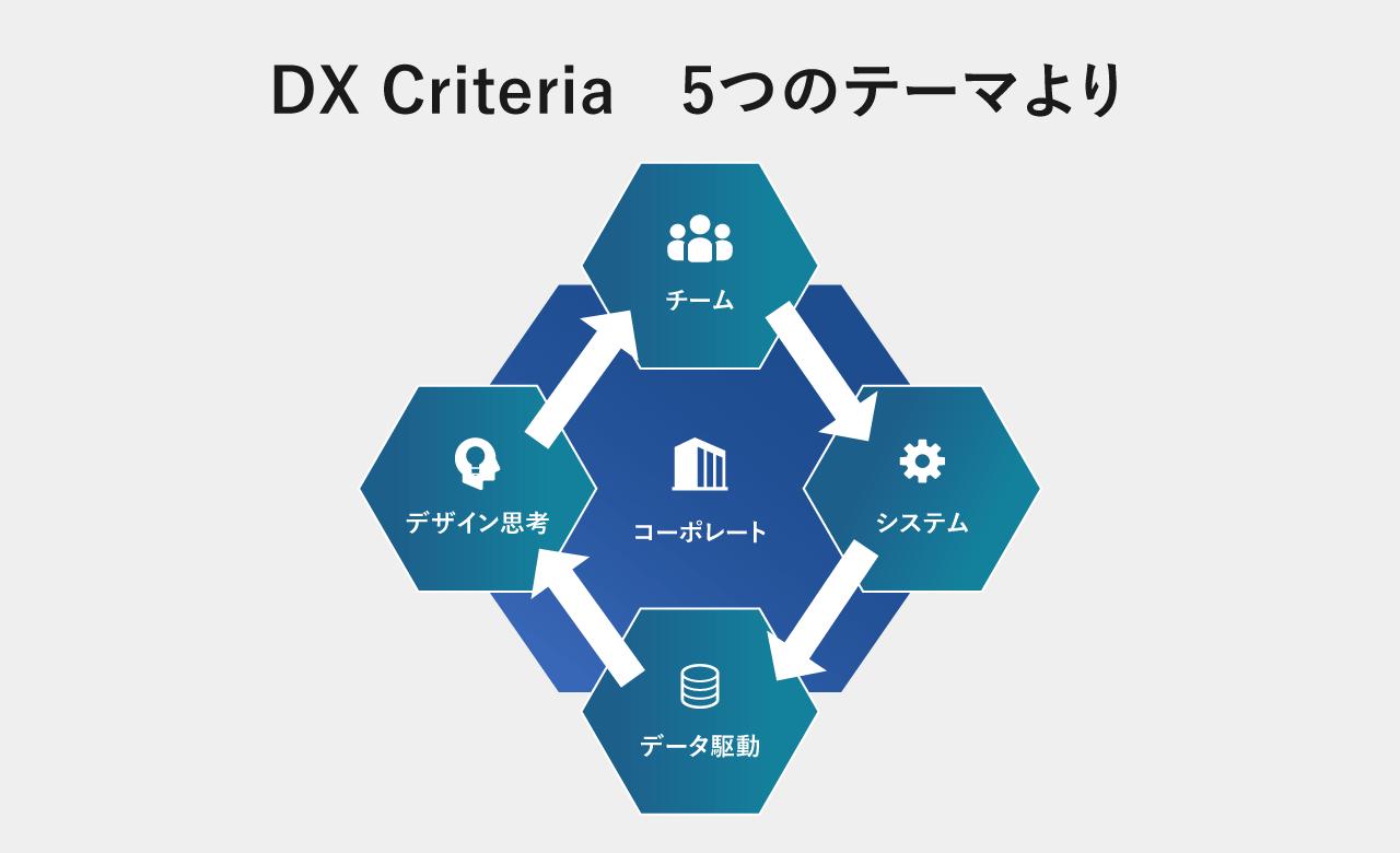 DXCriteria5つのテーマよりの図