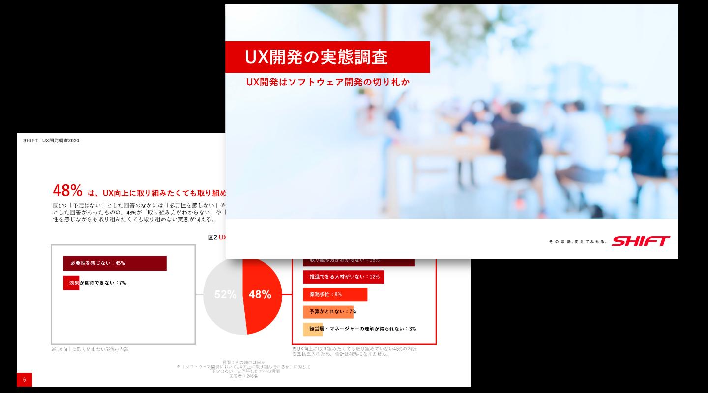 UX開発の実態調査